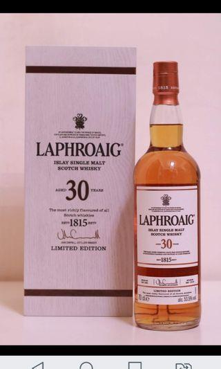 Laphroaig 30 / 28 yrs