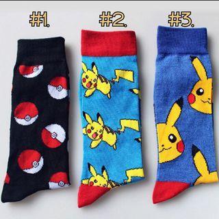 Poke ball Pikachu Pokémon Pokemon Pocket Monster long socks