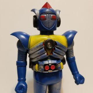 Popy 天地雙龍 地龍俠 中古品 膠公仔 Kyodain Sofubi bullmark medicom evolution toys
