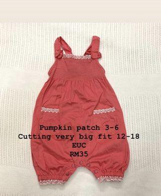 Pumpkin Patch Baby Overall