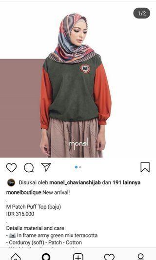 atasan monel x deenay