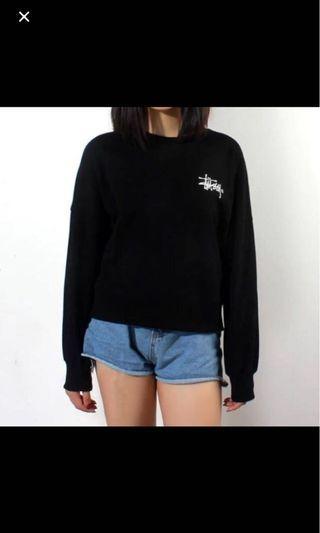 Stussy black pullover
