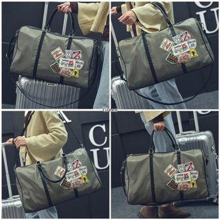 Trendy 30L BomberBag Olive Green,BEST COMBO WITH YOUR BOMBER JACKET