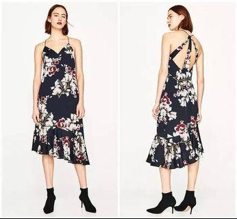 Frilled camisole dress