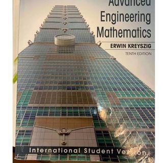Kreyszig工程數學 原文書 第十版
