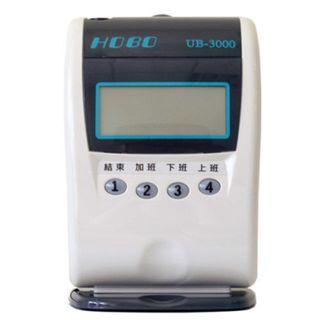 🚚 HOBO UB-3000 四欄位微電腦打卡鐘∥九針點矩陣打印∥自動萬年曆設計∥內建音樂響鈴∥台灣製造1年保固