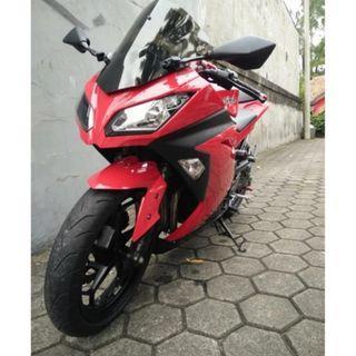 Ninja 250 FI Modif Branded Minimalis, Kinclong, Jarang Pake! Km 7ribu