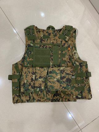 ARMY MARPAT VEST || ROMPI MARPAT POLICE