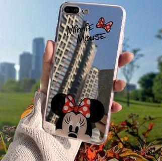 Minnie Mouse Mirror Silicon Case for IPhone X/ XS