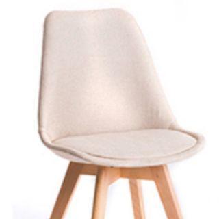 北歐布藝椅子餐椅