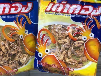 泰國金龜嘜魷魚絲12g