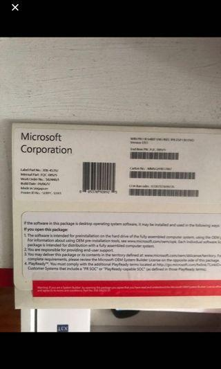 🚚 Window 10 Pro 64 bit OEM with DVD installer