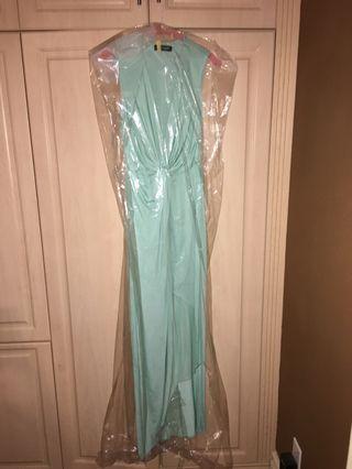 Baby blue Marciano maxi dress size small
