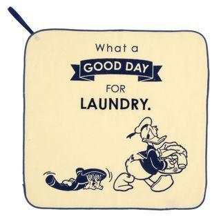 日本迪士尼 DISNEY Good Laundry Day 方巾 毛巾 抹手巾 唐老鴨 奇奇蒂蒂