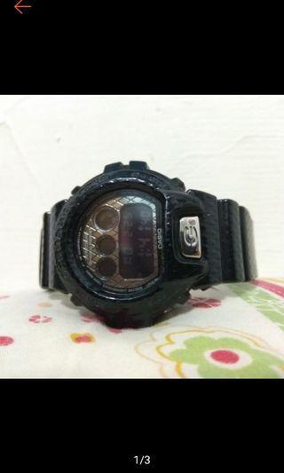 🚚 正版 正品 限量 CASIO Gshock 卡西歐 電子錶 菱格紋 黑色