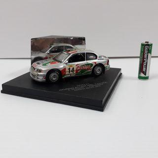 Hyundai accent wrc castrol rally car