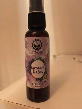 Utama spice Lavender fields from Bali yoga body mist