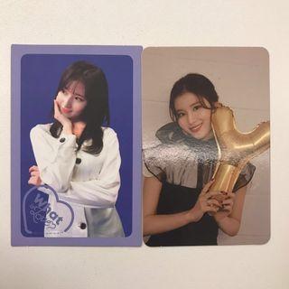 WTS TWICE Sana photocards