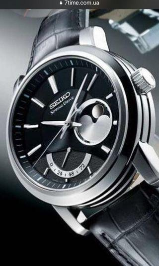 🚚 Seiko Spring Drive Award Winning Watch Limited edition