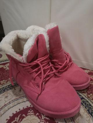 🚚 Winter Boots, Pink