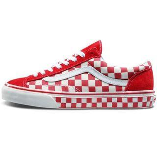 [Brand New] Vans Style 36 Red Checkerboard