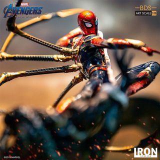 「預訂」Iron Studios BDS Art Scale 1/10 Figure (AvengersE.G.Ver) Iron Spider Vs Outrider 鋼鐵蜘蛛俠