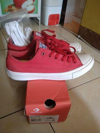 Converse Chuck Taylor II low red original