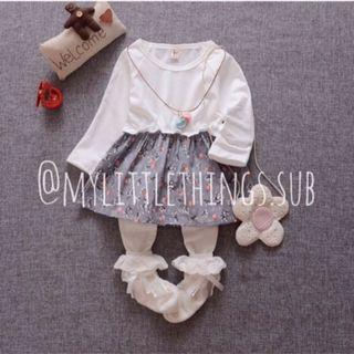 Dress bayi impor