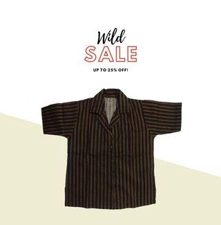 Yogyakarta's traditional stripes shirt