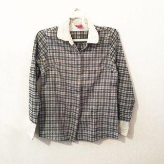 Sophie Martin Tartan Shirt / Kemeja kotak