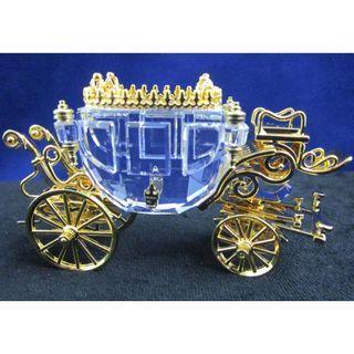 Swarovski Crystal Memories Journeys Carriage #220496 MIB COA