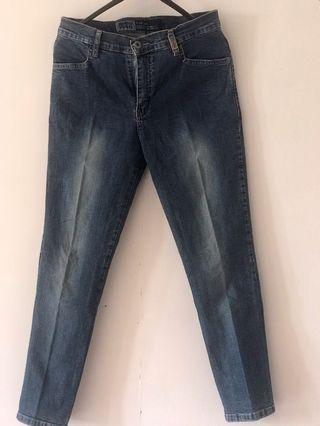 Celana Jeans biru