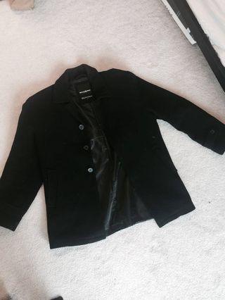 Men's cashmere coat (size M)