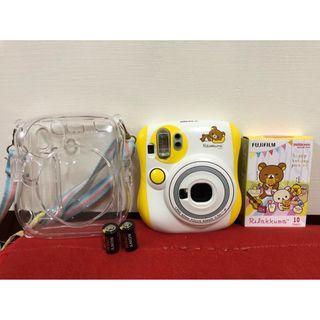 💝近全新日本限定黃色拉拉熊拍立得 拉拉熊mini25 懶懶熊相機Rilakkuma 富士instax mini25