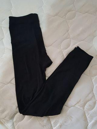 Free Size Stretch Black Tights Leggings