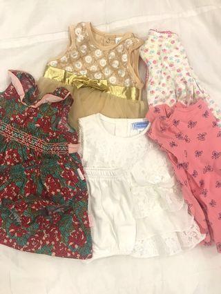 Dress & baju baby girl