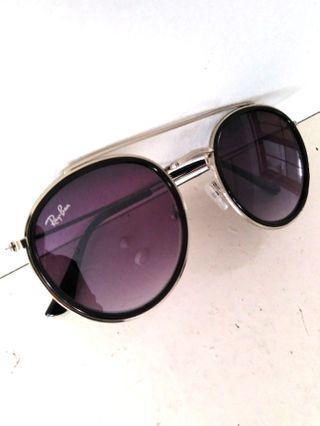 Sunglasses round metal clip on #carouraya #rayathon50