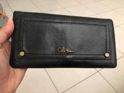 Cole Haan purse wallet black