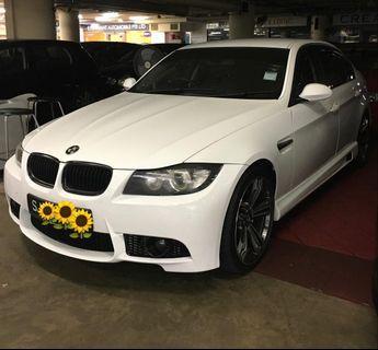 BMW 320i E90 Angel Eye headlights