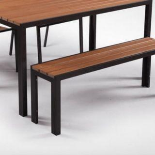 🚚 Outdoor Dining Set Table Bench
