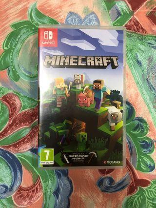 Minecraft SWITCH edition