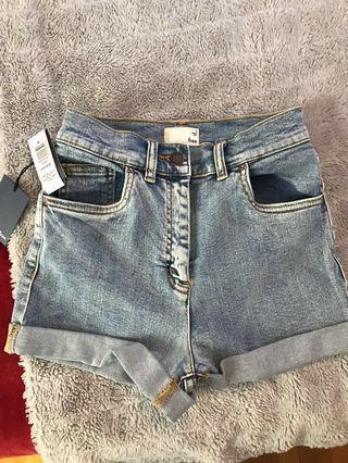 Aritzia Jovovich denim shorts