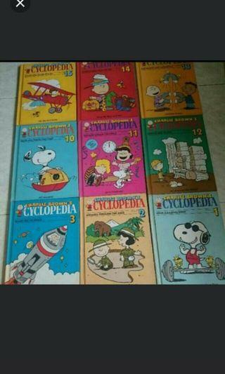 Charlie Brown's Cyclopedia story Book