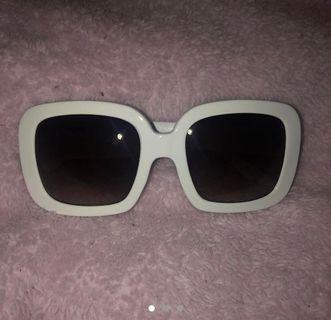 White & Black Sunglasses