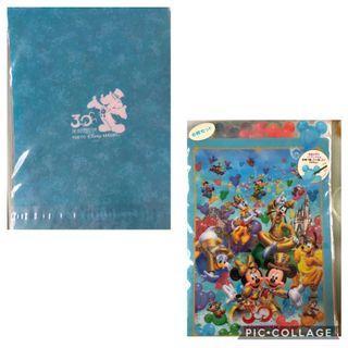 東京迪士尼30周年紀念L夾(8個一組 )