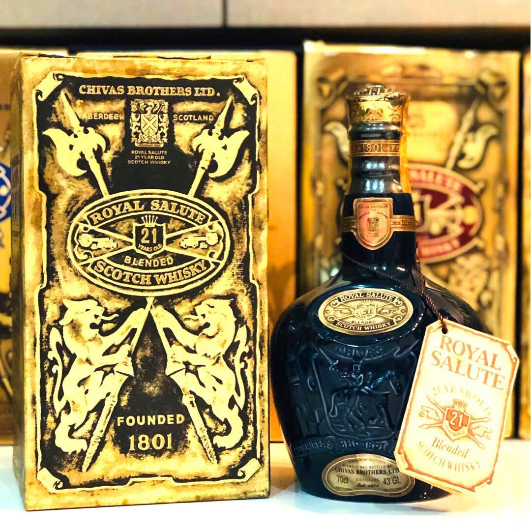 0.75L Chivas 21 Old Scotch Whisky w Box