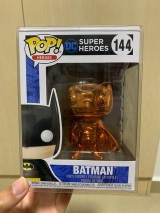 Funko Pop Orange Chrome Batman