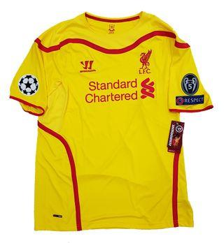 Official BNWT Liverpool Away 2014-2015 Jersey Coutinho #10 Size XL