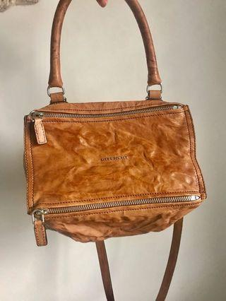 Givenchy Pandora Small Caramel bag Authentic with receipt