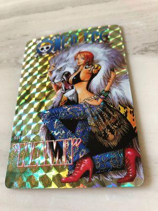One piece collecion cards